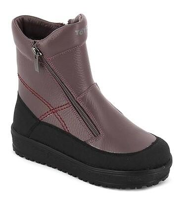 3056-ТП-01 (серо-сиреневый) ТОТТА Ботинки оптом, размеры 27-31