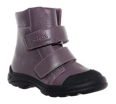 338-БП-05 (серо-сиреневый) ТОТТА Ботинки оптом, размеры 26-30