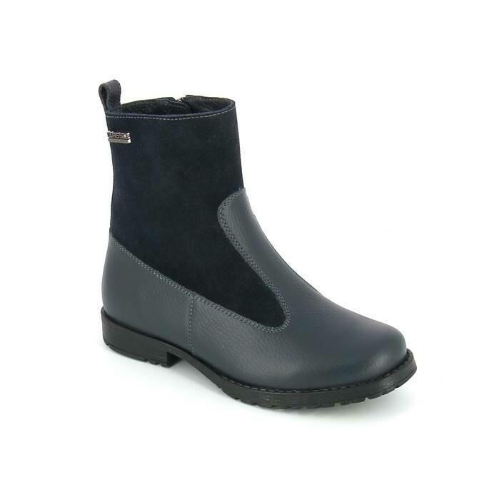 3050-БП-02 (слива) ТОТТА Ботинки на байке оптом, размеры 32-36