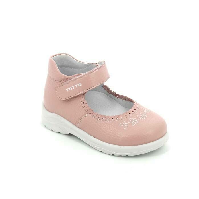 0227/1-07 (пудра) ТОТТА Туфли открытые оптом, размеры 27-30