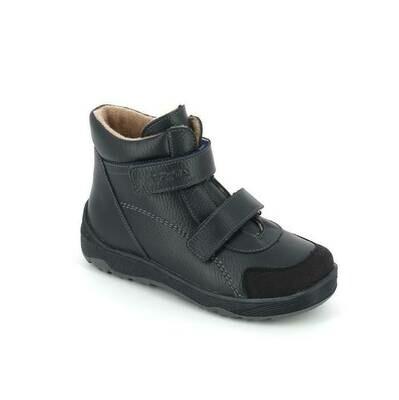 2458/1-БП-01 (синий) ТОТТА Ботинки на байке оптом, размеры 31-35