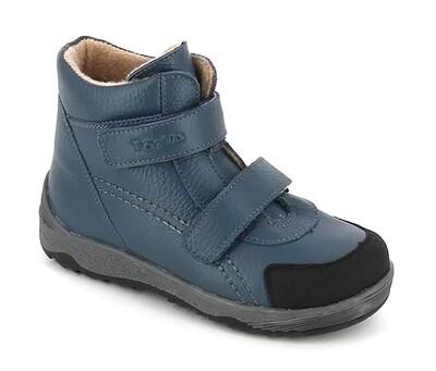 2458/1-БП-03 (джинс) ТОТТА Ботинки на байке, размеры 31-35