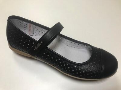 30000/2-КП-06 (черный) ТОТТА Туфли оптом, размеры 31-36
