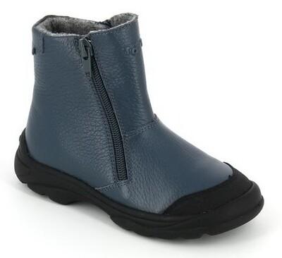 398-БП-01 (джинс) ТОТТА Ботинки на байке, размеры 26-30