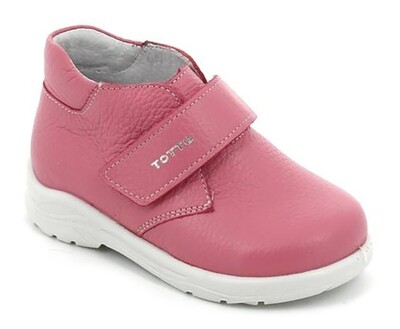 2429-06 (пион) ТОТТА Ботинки (нат. кожа) оптом, размеры 23-26