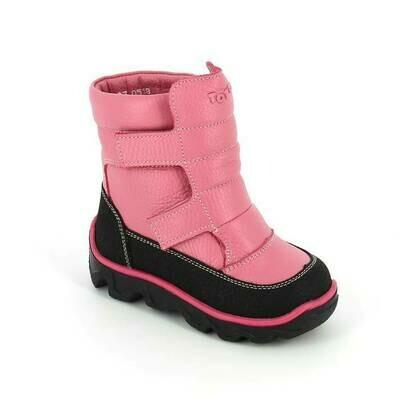 452-МП-05 (пион) ТОТТА Ботинки зимние (нат. мех), размеры 23-26