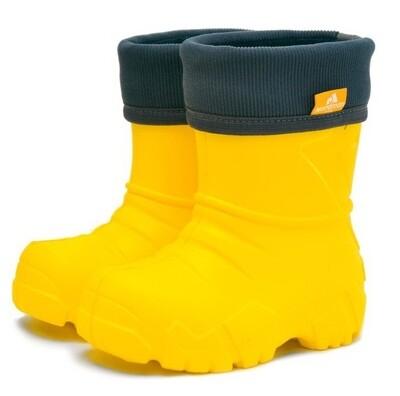 2-111-Y06 (желтый) Сапоги Nordman Kids оптом, размеры 28/29-30/31