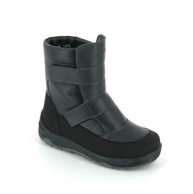 400-МП-01 (синий) ТОТТА Ботинки зимние, нат. кожа, нат. мех, размеры 27-31