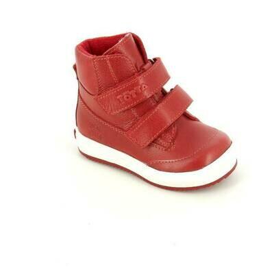 126-НЗ-БП-06 (мармелад) Ботинки ТОТТА из натуральной кожи на байке, размеры 23-26
