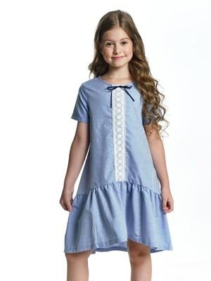 Платье (122-146см) UD 6622(2)голубой