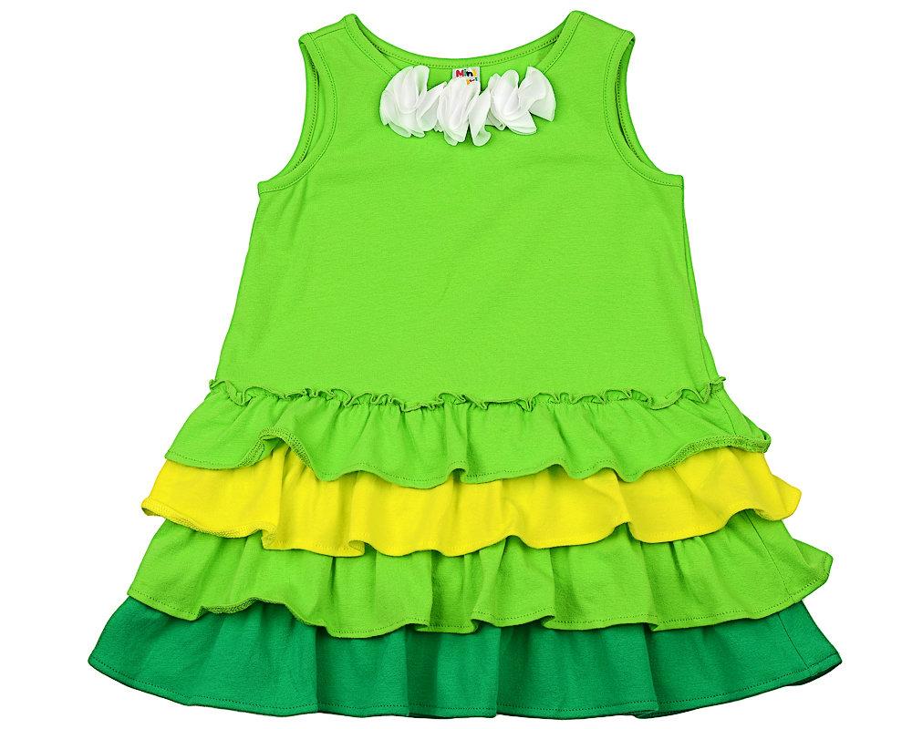 UD 3182(2)зеленый  Mini-maxi Платье (98-122см)
