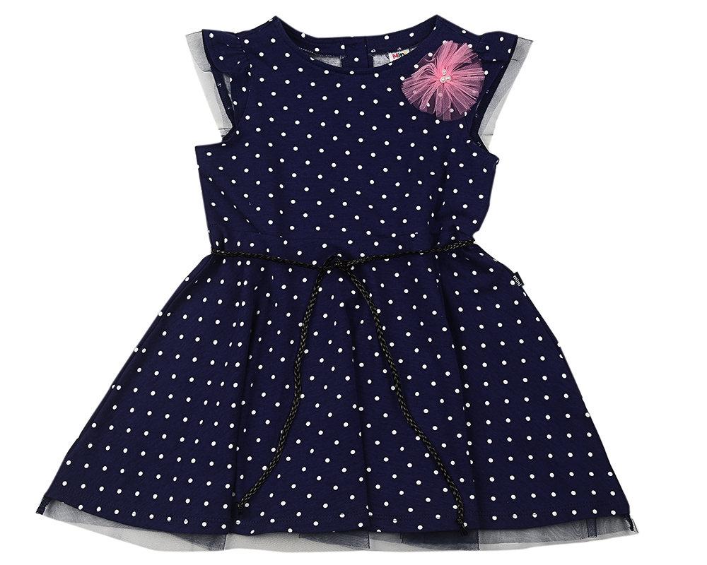UD 4134(1)св.синий  Mini Maxi Платье (98-122см)