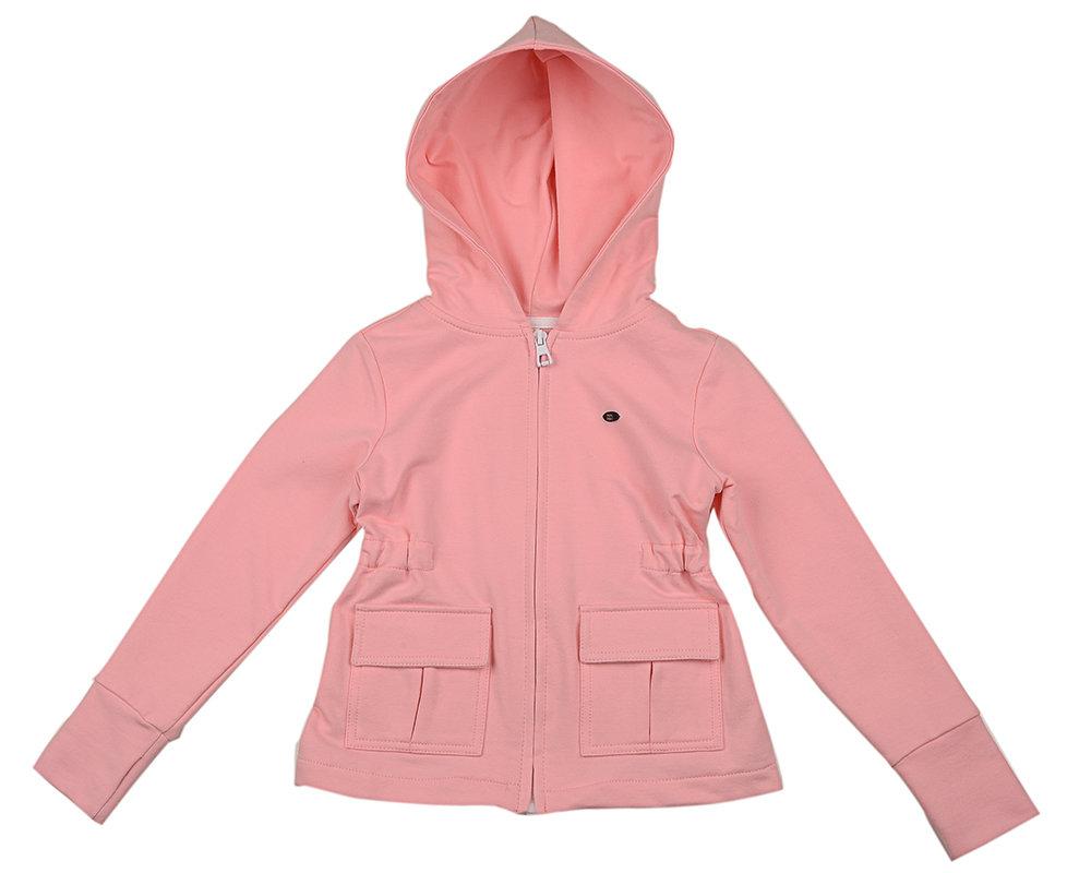 UD 3717(2)розов  Mini Maxi Куртка с карманами д/д (98-122см)