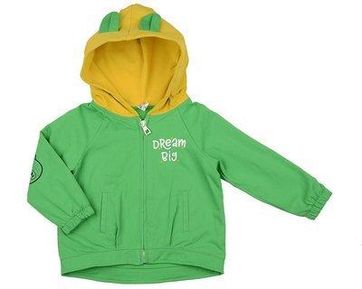 UD 4873(2)зелен  Mini Maxi Куртка (98-116см)