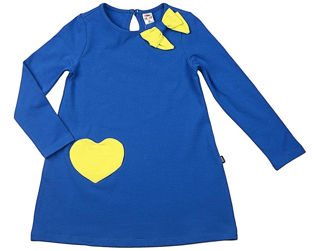 Платье (98-122см) UD 3798(3)син/электрик