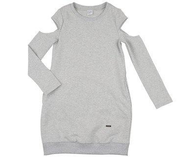 Платье (122-134см) UD 6004(3)серый