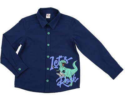 Сорочка (рубашка) (98-122см) UD 6020(1)синий