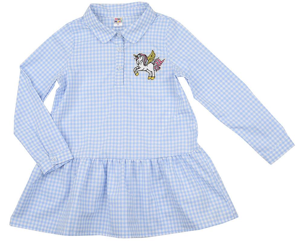Платье (98-122см) UD 4898(2)кл голуб
