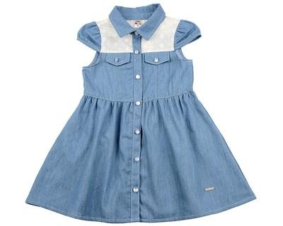 Платье (98-122см) UD 6261(1)джинс
