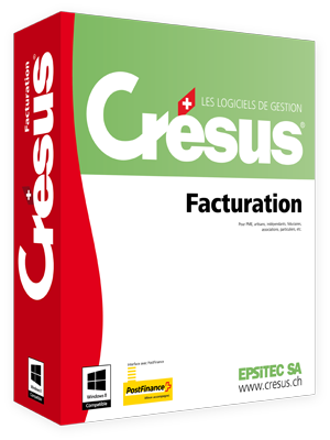 Installation of Crésus Facturation