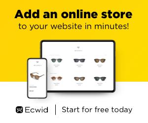 Créez votre boutique en ligne !
