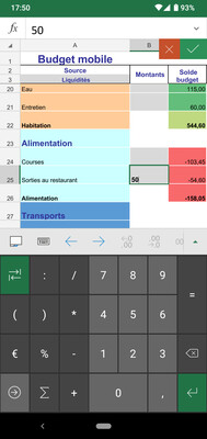 Mobile Budget