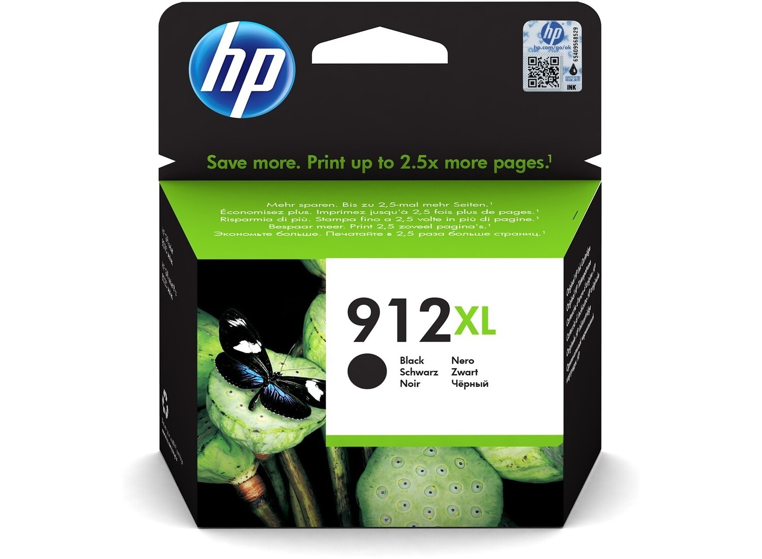 Original HP 912 ink cartridges