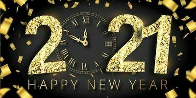 Nos Meilleurs Voeux pour 2021 !
