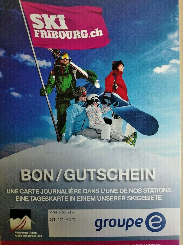 Forfait de ski 1 journée adulte Fribourg