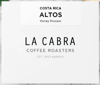 Costa Rica - Altos Honey