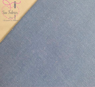Denim Chambray Wide Width 100% Cotton Fabric