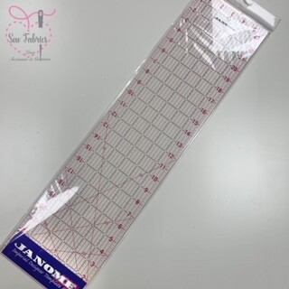 Janome Imperial Designers Template Quilting Ruler (6inch x 24inch)