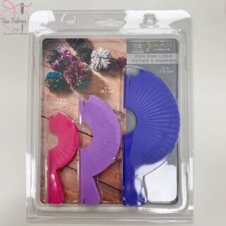 Darice Easy Knitting Pom Pom Maker (3pcs)