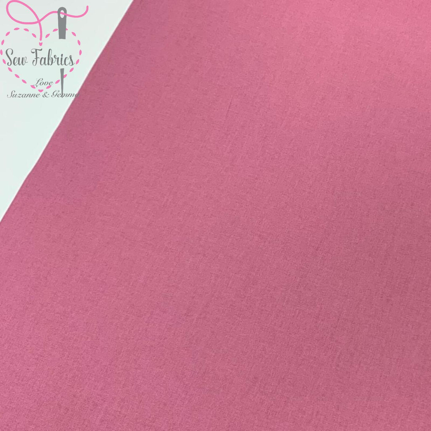 Dusty Pink 100% Craft Cotton Solid Fabric Plain Material