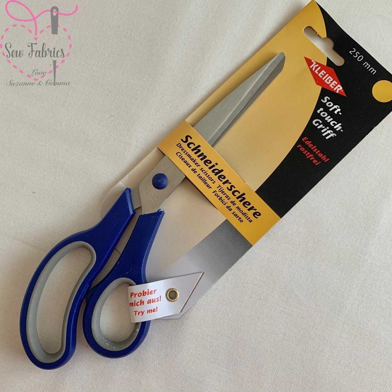 Kleiber Soft-touch Dressmaking Scissors Blue 250mm