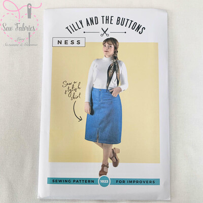 Ness Skirt Printed Sewing Pattern by Tilly and The Buttons