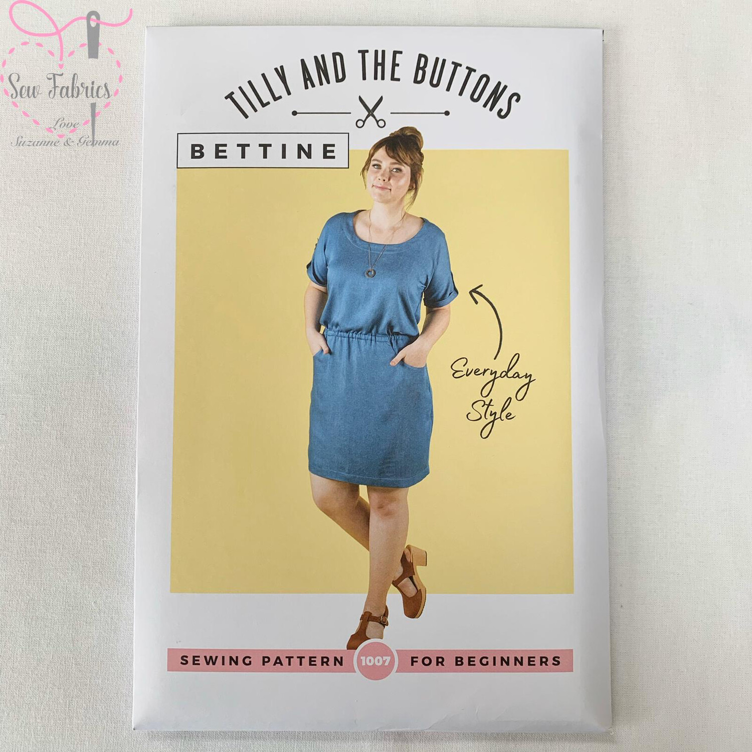 Bettine Dress Printed Sewing Pattern by Tilly and The Buttons