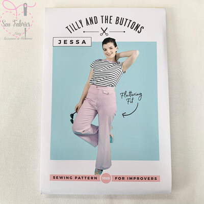 Jessa Trousers and Shorts Printed Sewing Pattern by Tilly and The Buttons