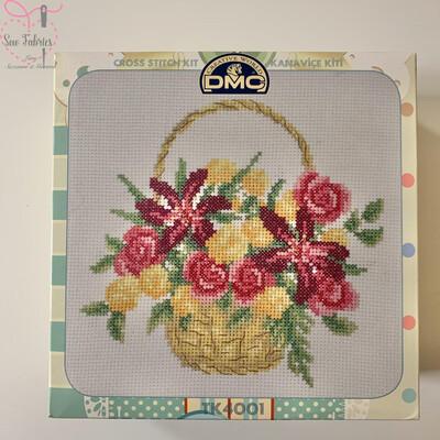 Bouquet DMC Cross Stitch Kit with Metal Presentation Box