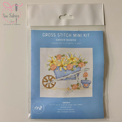Garden Barrow My Cross Stitch Mini Kit 6