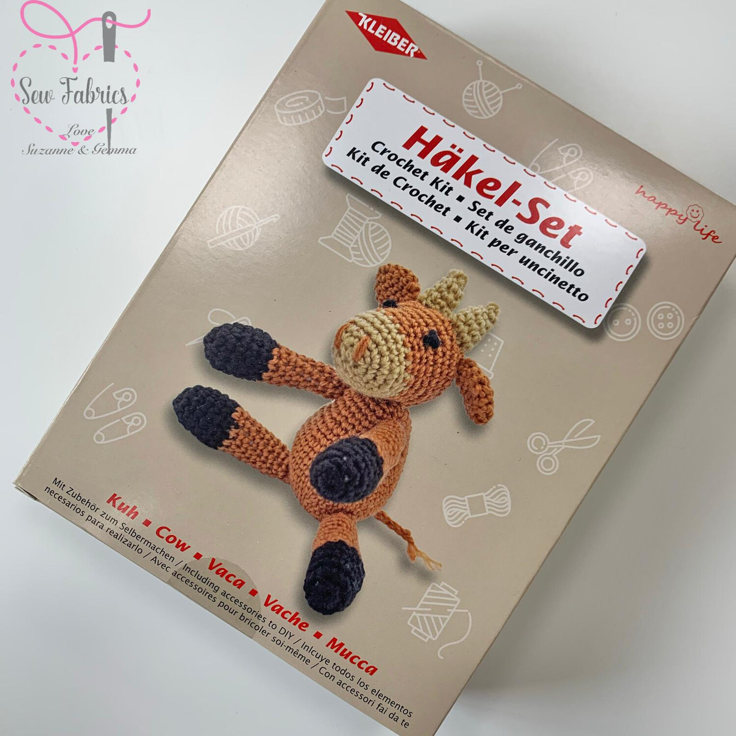 Cow Kleiber Crochet Toy Kit