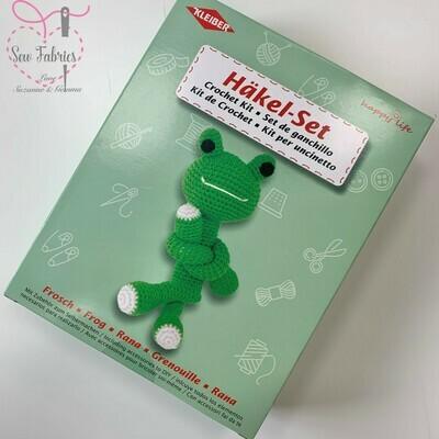 Frog Kleiber Crochet Toy Kit