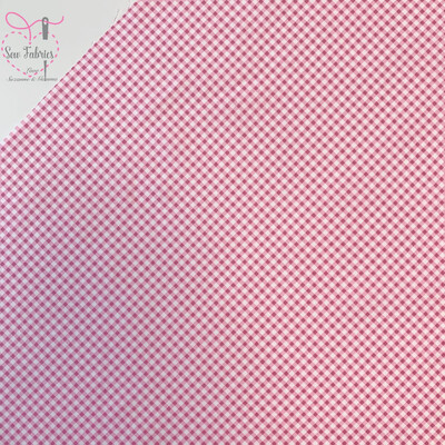 Rose & Hubble Pink Gingham Print 1/8