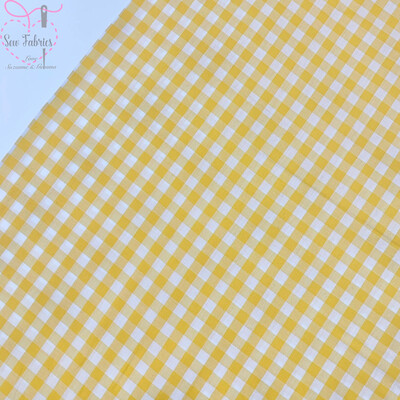 John Louden Yellow Gingham 1/3