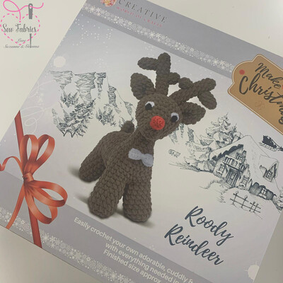 The Knitty Critters Make Christmas Collection, Roody Reindeer Crochet Kit