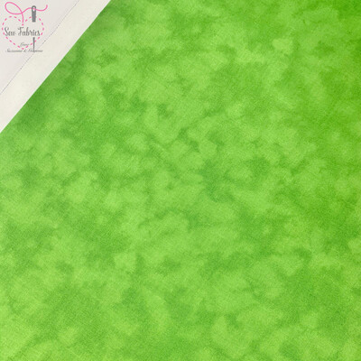 John Louden Lime Blender 100% Cotton Fabric, Green Mixer Material