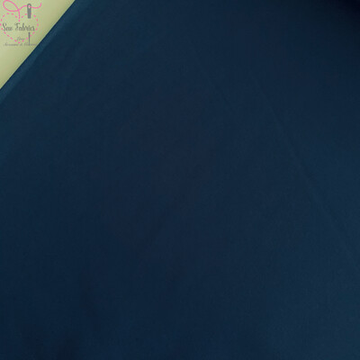 Midnight Blue 100% Craft Cotton Solid Fabric Plain Material