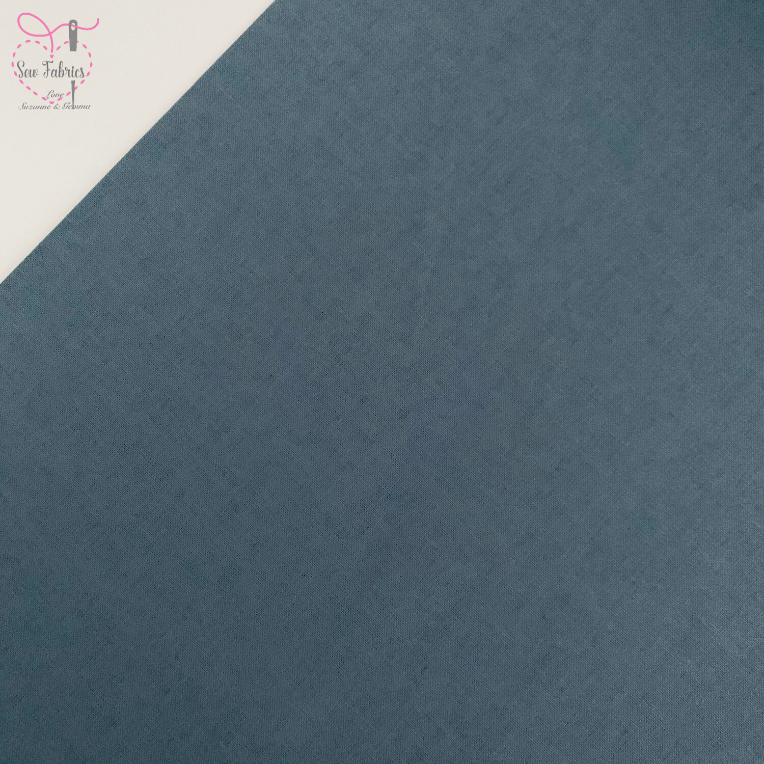 Storm Grey 100% Craft Cotton Solid Fabric Plain Material