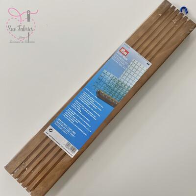 Prym Wooden Ruler Rack, Lineal Ruler Organizer