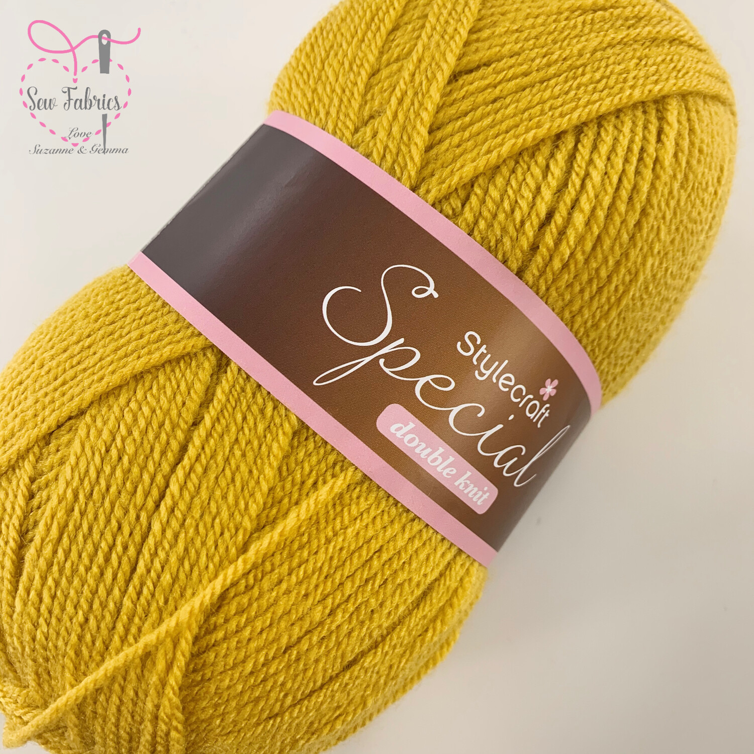 Stylecraft Special DK 100% Premium Acrylic Wool - Mustard  Buy More Than 1 Ball & Get 30% Off With Code STYLE30
